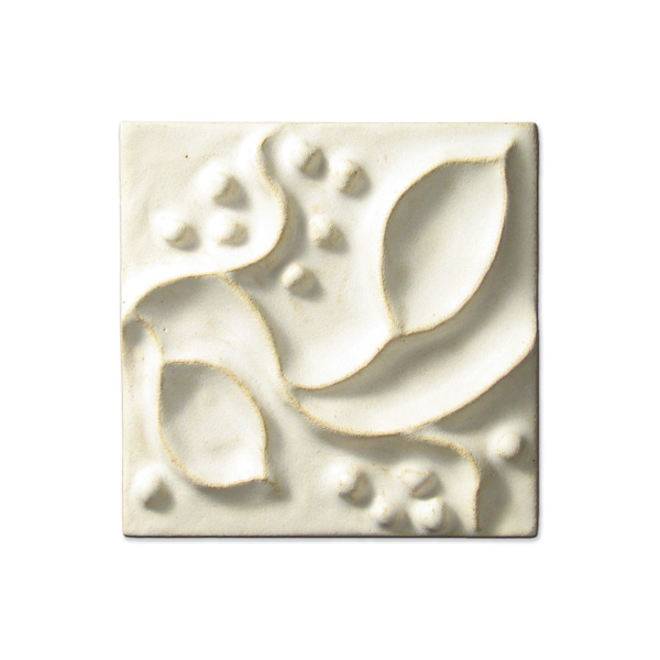 Meadow Vine 4x4 inch Ancient White
