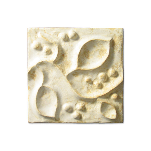 Meadow Vine 4x4 inch Primal White
