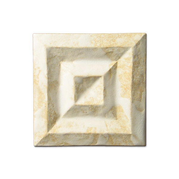 Shadow Square 4x4 inch Primal White