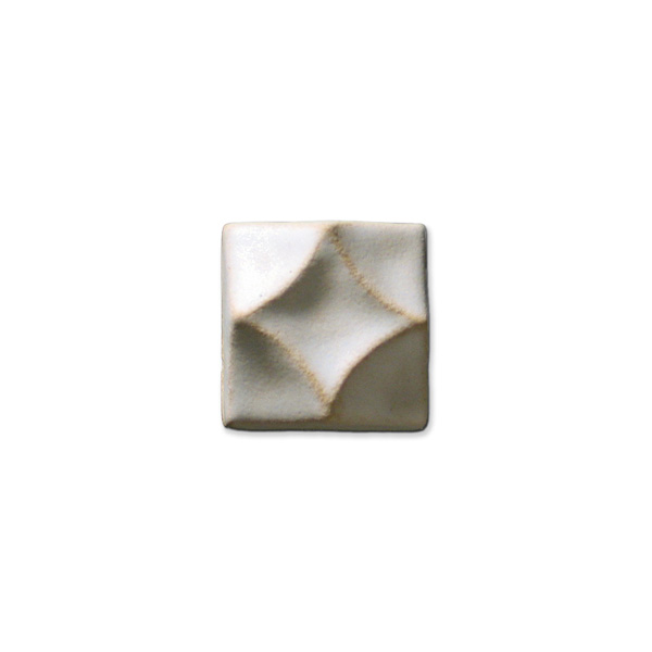 Swan's Diamond 1.375x1.375 inch Ancient White
