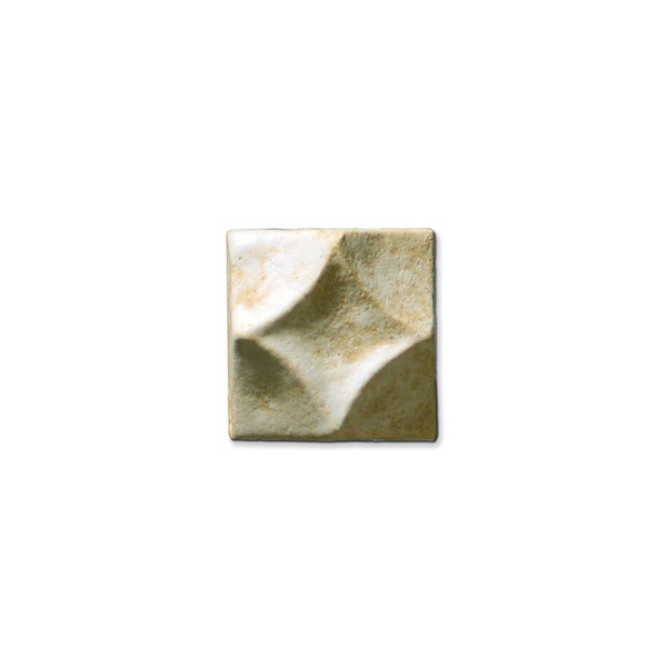 Swan's Diamond 1.375x1.375 inch Primal White