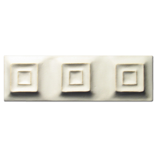 Syncopation 2x6 inch Ancient White