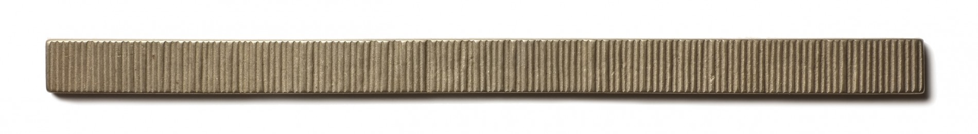 "Beach Grass Liner 0.75x12"" accent liner  White Bronze"
