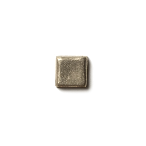 "Mantra 0.63x0.63"" accent tile  White Bronze"