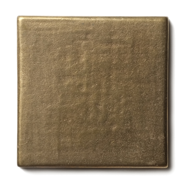 "Mantra 2.5x2.5"" accent tile  Traditional Bronze"