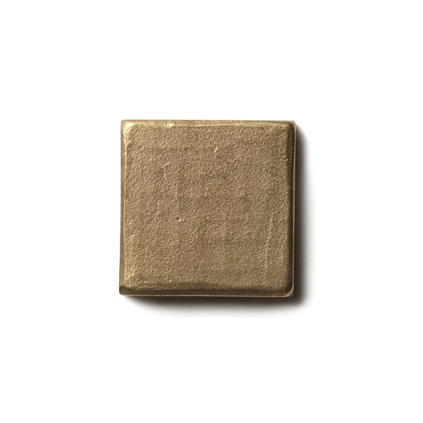 "Mantra 1.25x1.25"" accent tile  Traditional Bronze"