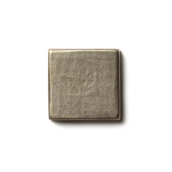 "Mantra 1.25x1.25"" accent tile  White Bronze"