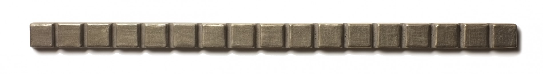 "Mosaic Liner 0.63x12"" accent liner  White Bronze"