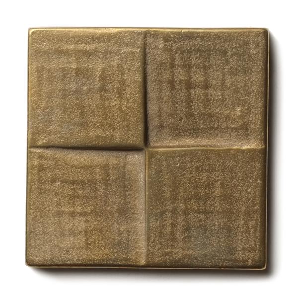 "Terrace 2.5x2.5"" accent tile  Traditional Bronze"