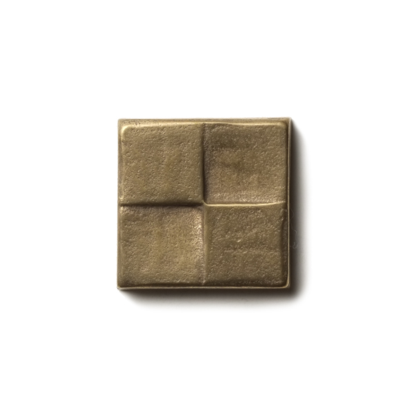 "Terrace 1.25x1.25"" accent tile  Traditional Bronze"