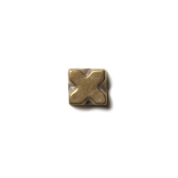 "X 0.63x0.63"" accent tile  Traditional Bronze"