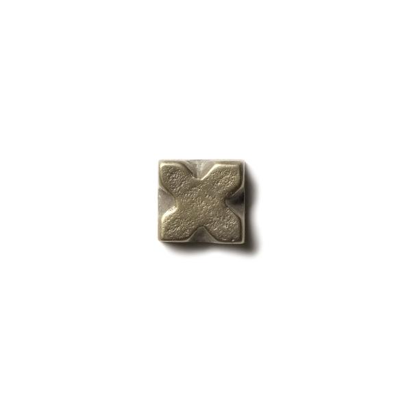 "X 0.63x0.63"" accent tile  White Bronze"