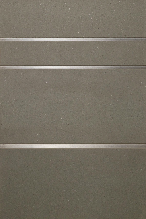 "Stainless Steel 1/4"" & 3/8"" · Gray Sandstone"