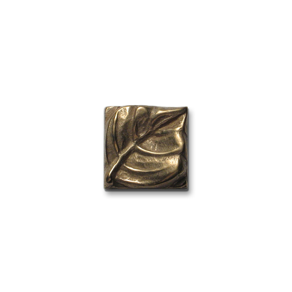 Aspen Leaf 1x1 inch Traditional Bronze