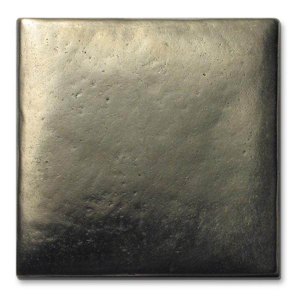 Cabochon 3x3 inch White Bronze
