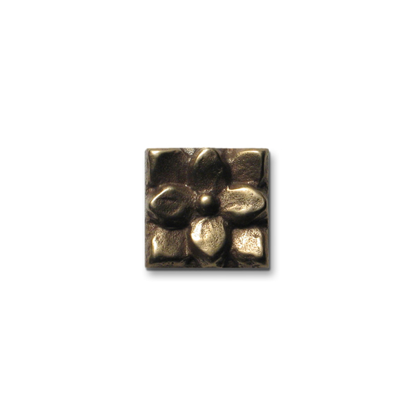 Lotus 1x1 inch Traditional Bronze