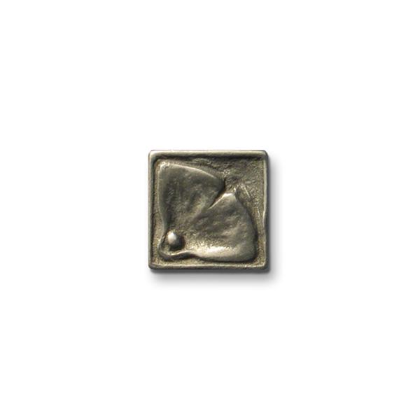Moon Blossom 1x1 inch White Bronze