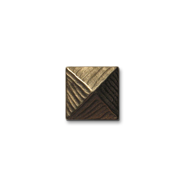 Pyramid 1x1 inch Traditional Bronze