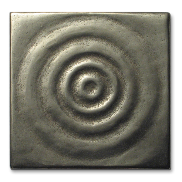 Water 3x3 inch White Bronze
